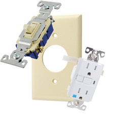 Plates, Outlets & Switches