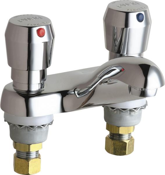 Chicago Faucet Metering Lavatory Faucet
