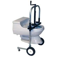 Crank Lift Toilet Kart