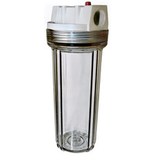 American Plumber Clear Filter Housing