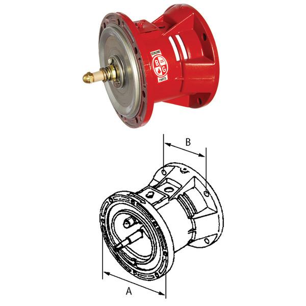 Bell & Gossett 60 Series Pump Bearing Assembly - 8 Bolt