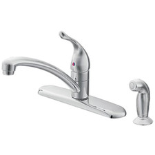 Moen Chateau® Single Handle Kitchen Faucet - Chrome