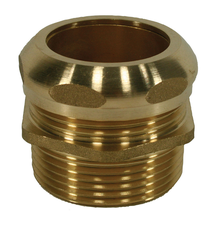 "Universal Drain Brass Trap Adapter - 1-1/2"" x 1-1/2"", Male"