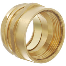 "Universal Drain Brass Trap Adapter - 1-1/2"" x 1-1/2"", Female"