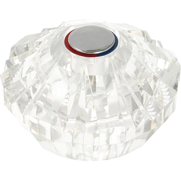 Price Pfister Avante Tub & Shower Handle - Clear Acrylic