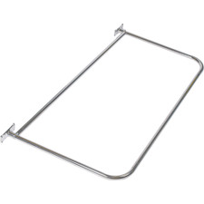 "Rectangular ""D"" Shower Rod"