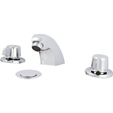 Union Brass Two Handle Lavatory Faucet