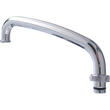 Union Brass Spout For Laundry Tub