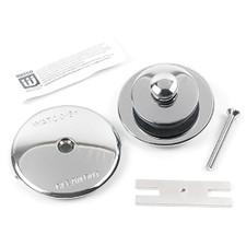 Lift & Turn Tub Stopper Kit - Chrome