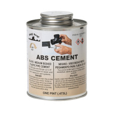 A-6 ABS Pipe Cement - 16 Oz