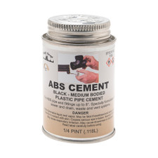A-6 ABS Pipe Cement - 8 Oz
