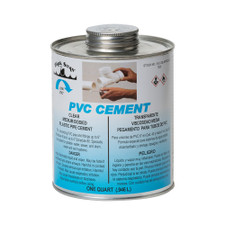 P-4 PVC Pipe Cement - 32 Oz