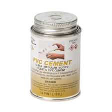 P-4 PVC Pipe Cement - 4 Oz