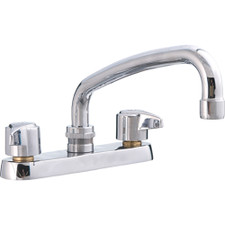 Union Brass Two Handle Kitchen Faucet