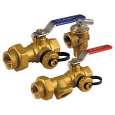 "Webstone Isolation Valve - 3/4"" IPS x IPS"