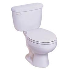 "Briggs - China Altima™ Complete Toilet - 1.6 GPF, 15"" Height, Round, White"