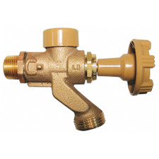"Woodford Model 101 Anti-Siphon Wall Hydrant - 1/2"" MPT X 1/2"" Female Sweat, CP"