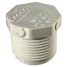 "Diversitech Nylon Pipe Plug - 5/8"" Barb x 5/8"" Barb x 5/8"" Barb, 2-Pack"