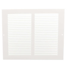 Hart & Cooley White Return Air Grille