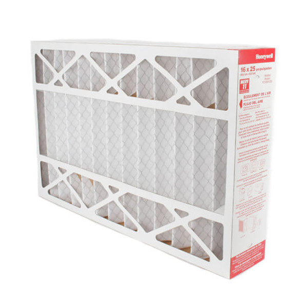 "Honeywell Pleated Media Furnace Filter - 16"" X 25"" X 4-3/8"" - 5-Pack"