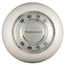 Honeywell Heat Only Thermostat - Premier White