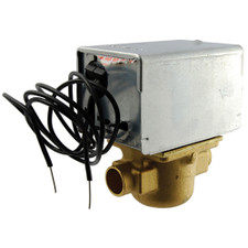 "Honeywell Electric Zone Valve - 24V, 2-Wire, 3.5CV, 3/4"" Sweat"