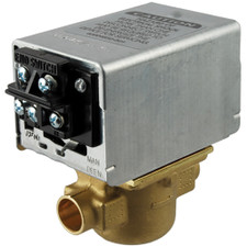 "Honeywell Electric Zone Valve - 24V, 4-Wire, 3.5CV, 3/4"" Sweat"