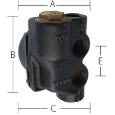 Sterling Sterlco® Float & Thermostatic Steam Trap
