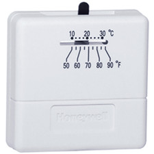 Honeywell Heat Only Thermostat - White