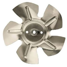 "Plastic Fan Blade - 7"", 1/4"" Shaft"