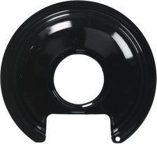 "Stanco Range Drip Pan - 6"", Black Porcelain"