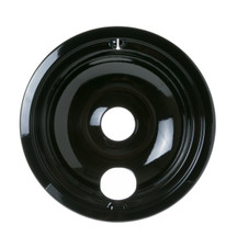 "General Electric Porcelain Bowl - 6"", Black"
