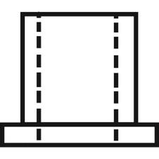 "Closet Door Pin Cap - 5/16"" ID X 3/8"" OD"