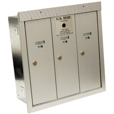 Bommer Industries Recessed Mount Vertical Mailbox