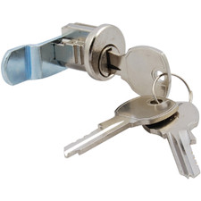 Bright Chrome Mailbox Lock