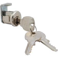 Miami-Carey Bright Chrome Mailbox Lock