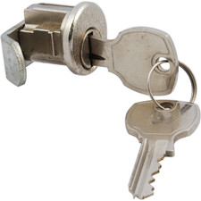 Jensen General Bright Chrome Mailbox Lock