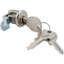 Bommer Hookcam Bright Chrome Mailbox Lock