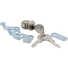 Multi-Cam Inside Mailbox Lock Kit - NA-14, Bright Nickel