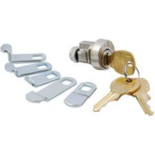 Bright Nickel Mailbox Lock