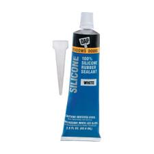 Dap Products Silicone Bathtub Sealant - 2.8oz, White