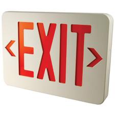 Morris LED Exit Sign - 120/277V