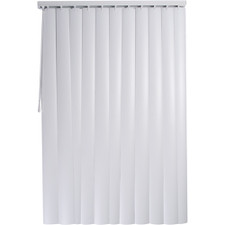 "Royal Window Coverings Rope & Chain Vertical Blind - 78"" x 84"", Alabaster"