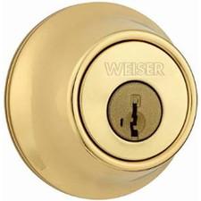 Weiser Lock Single Cylinder Deadbolt