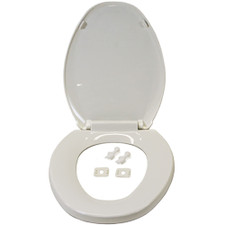 EZ™ Close Elongated Toilet Seat