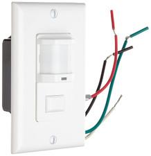 Morris Wall Mount Occupancy/Vacancy Sensor - White