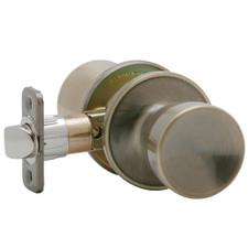 Weiser Lock Beverly™ Hall & Closet Door Knob Set - Antique Brass, 6 Way Latch
