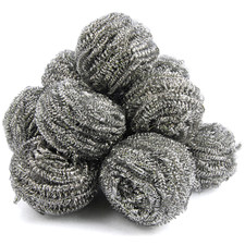 Cleaning Supply Stainless Steel Scrubber
