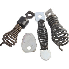 General Wire Spring Mini-Rooter Four Piece Drain Cutter Set