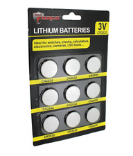 Lithium 3V Coin Cell Battery